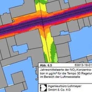 Tempo 30 und das Einrichten einer Umweltzone wird an der Feldbergstrasse in Basel geprüft