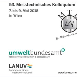 Rückblick auf das 53. Messtechnisches Kolloquium in Wien, 7. - 9. Mai 2018