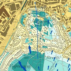 Neue Klimakarten für den Kanton Zürich zeigen städtische Hitzeinseln
