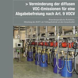 Auch UREK-N: VOC-Lenkungsabgabe beibehalten, aber vereinfachen