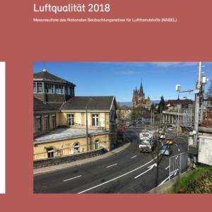 NABEL-Messnetz Luftqualität 2018