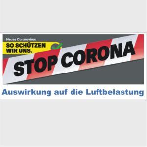 Region Basel: Auswirkungen des Lockdown auf die Luftqualität - aktualisiert