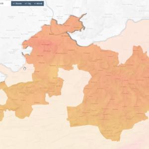 Luftqualität 2019 in der Region Basel
